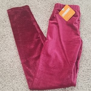 NWT gymboree velour leggings
